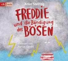 Anke Stelling: Freddie und die Bändigung des Bösen, 4 CDs