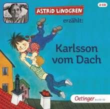 Astrid Lindgren: Karlsson vom Dach. 2 CDs, 2 CDs