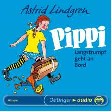 Astrid Lindgren: Pippi Langstrumpf geht an Bord. CD, CD