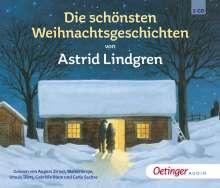 Astrid Lindgren: Die schönsten Weihnachtsgeschichten (3 CD), 3 CDs