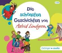 Astrid Lindgren: Die schönsten Geschichten von Astrid Lindgren (3 CD), 3 CDs