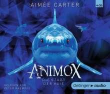 Aimee Carter: Animox 03. Die Stadt der Haie (4 CD), 4 CDs