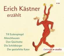 Erich Kästner: Erich Kästner erzählt (5 CD), 5 CDs