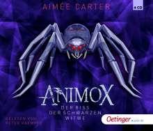 Animox.Schwarze Witwe (4), 4 CDs