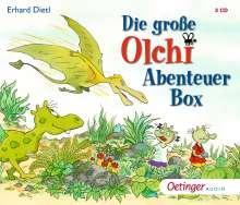 Die große Olchi-Abenteuer-Box, 3 CDs