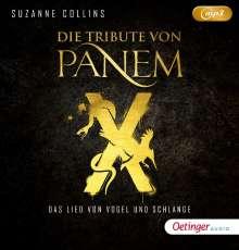 Suzanne Collins: Die Tribute von Panem - Das Lied von Vogel und Schlange, 2 MP3-CDs