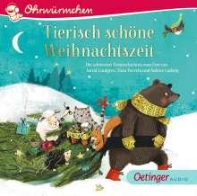 Ohrwürmchen.Tierisch schöne Weihnachtszeit, CD