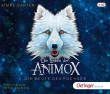 Aimée Carter: Die Erben der Animox, 4 CDs