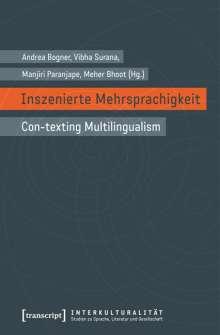 Inszenierte Mehrsprachigkeit, Buch