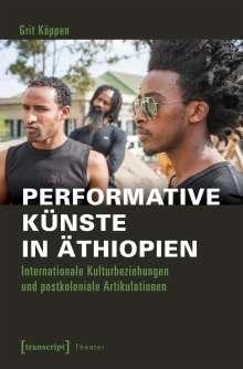 Grit Köppen: Performative Künste in Äthiopien, Buch