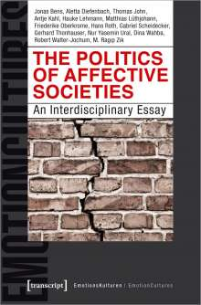 Jonas Bens: The Politics of Affective Societies, Buch