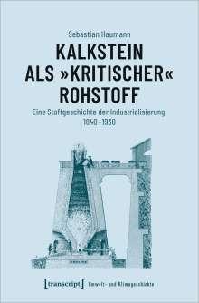 Sebastian Haumann: Kalkstein als »kritischer« Rohstoff, Buch