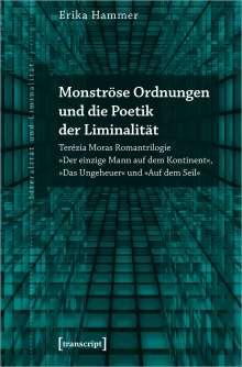 Erika Hammer: Monströse Ordnungen und die Poetik der Liminalität, Buch