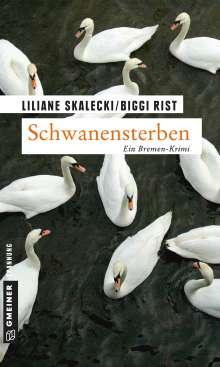 Liliane Skalecki: Schwanensterben, Buch