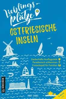 Knut Diers: Lieblingsplätze Ostfriesische Inseln, Buch