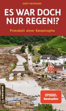 Andy Neumann: Es war doch nur Regen!?, Buch