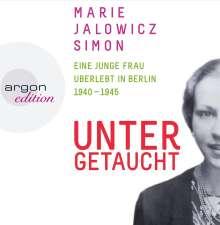 Marie Jalowicz Simon: Untergetaucht, 7 CDs