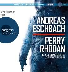 Andreas Eschbach: Perry Rhodan - Das größte Abenteuer, 4 CDs