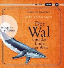John Ironmonger: Der Wal und das Ende der Welt, 3 MP3-CDs