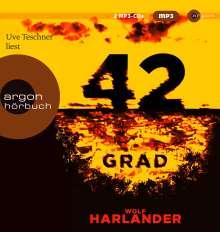 Wolf Harlander: 42 Grad, 2 MP3-CDs