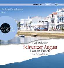 (4) Lost In Fuseta - Schwarzer August, MP3-CD