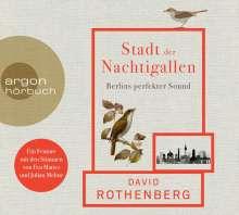David Rothenberg: Stadt der Nachtigallen, CD