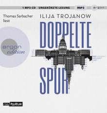 Ilija Trojanow: Doppelte Spur, 2 MP3-CDs