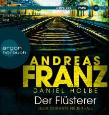 Andreas Franz: Der Flüsterer, MP3-CD