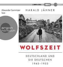 Harald Jähner: Wolfszeit, 2 MP3-CDs
