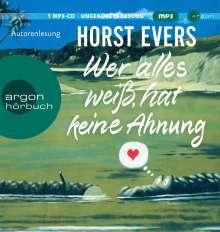 Horst Evers: Wer alles weiß, hat keine Ahnung, MP3-CD