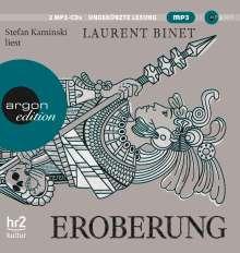 Laurent Binet: Eroberung, 2 MP3-CDs
