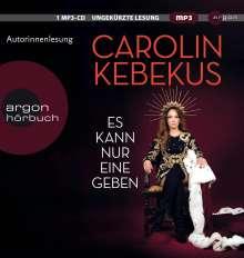 Carolin Kebekus: Es kann nur eine geben, MP3-CD