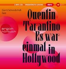 Quentin Tarantino: Es war einmal in Hollywood, 2 MP3-CDs