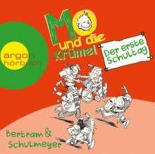 Rüdiger Bertram: Mo und die Krümel - Der erste Schultag, 2 CDs