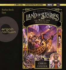 Chris Colfer: Land of Stories: Das magische Land 5 - Die Macht der Geschichten, 2 MP3-CDs