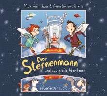 Max von Thun: Der Sternenmann und das große Abenteuer, 2 CDs