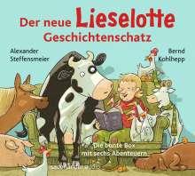 Alexander Steffensmeier: Der neue Lieselotte Geschichtenschatz, 2 CDs
