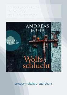 Andreas Föhr: Wolfsschlucht (DAISY Edition), MP3-CD
