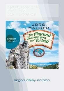 Jörg Maurer: Am Abgrund lässt man gern den Vortritt (DAISY Edition), MP3-CD