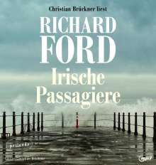 Richard Ford: Irische Passagiere, 2 MP3-CDs