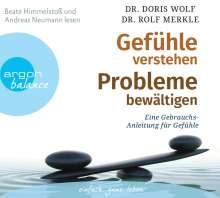 Rolf Merkle: Gefühle verstehen, Probleme bewältigen, 3 CDs