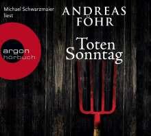 Andreas Föhr: Totensonntag (Hörbestseller), 6 CDs