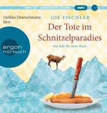 Joe Fischler: Der Tote im Schnitzelparadies, MP3-CD