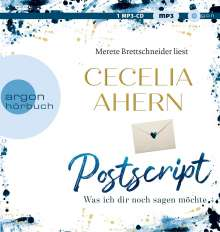 Cecelia Ahern: Postscript - Was ich dir noch sagen möchte, MP3-CD