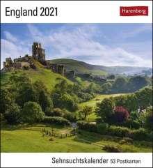 England 2021, Kalender