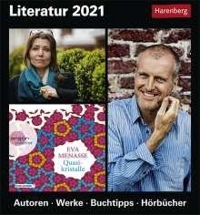 Ulrike Anders: Literatur - Kalender 2021, Kalender