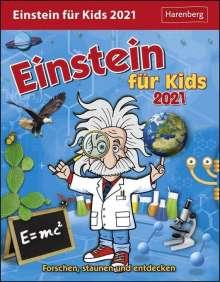 Achim Ahlgrimm: Einstein für Kids - Kalender 2021, Diverse