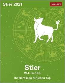 Robert Satorius: Sternzeichenkalender Stier 2021, Kalender