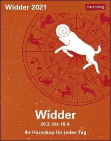 Robert Satorius: Sternzeichenkalender Widder 2021, Kalender