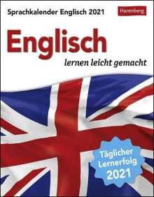 Jennifer Gallagher: Sprachkalender Englisch 2021, Kalender